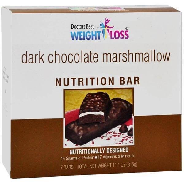 Dark Chocolate Marshmallow Nutrition Protein Bar