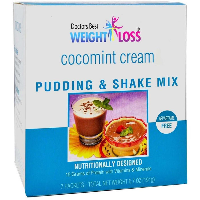 Cocomint Cream Pudding & Shake Mix - Aspartame Free