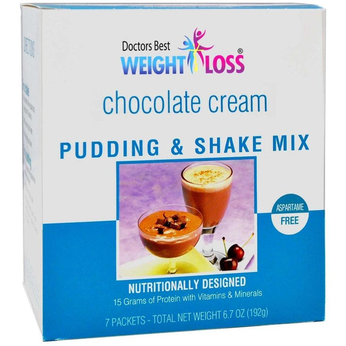 Chocolate Cream Pudding & Shake Mix - Aspartame Free