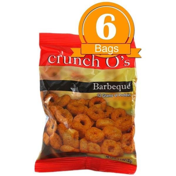 Crunch O's BBQ Protein Chips (6 bags)