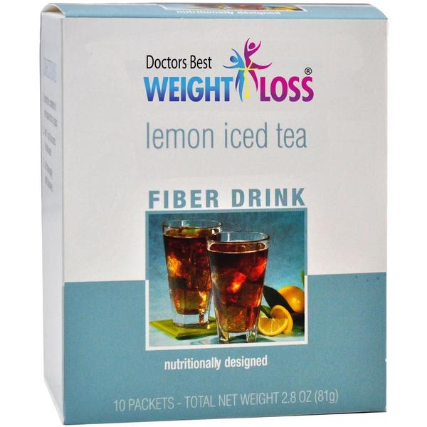 Lemon Iced Tea Fiber Drink