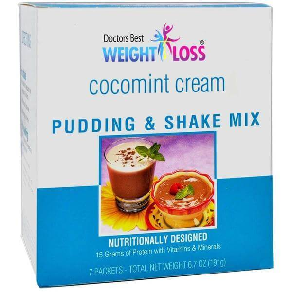 Cocomint Cream Pudding & Shake Mix