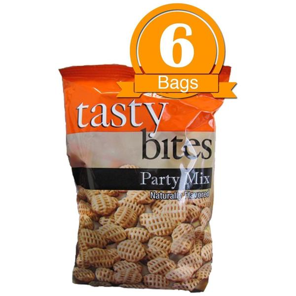 Tasty Bites Party Mix Protein Chips (6 bags)