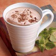 Creamy Mint Hot Chocolate