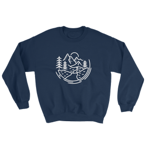 Comfort Zone Sweatshirt - Mountain Wanderlust