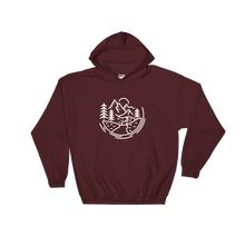 Load image into Gallery viewer, Wild & Free Hooded Sweatshirt - Mountain Wanderlust