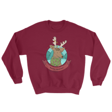 Load image into Gallery viewer, Mountain Wanderlust Christmas Sweatshirt