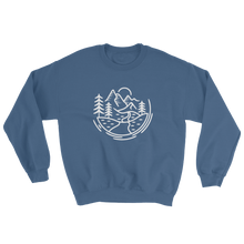 Load image into Gallery viewer, Comfort Zone Sweatshirt - Mountain Wanderlust