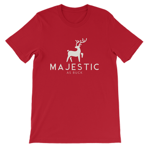 Majestic As Buck Unisex T-Shirt - Mountain Wanderlust