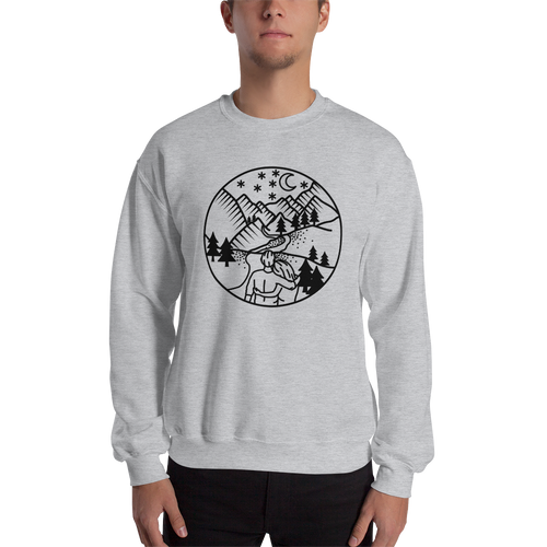 One More Peak Together Sweatshirt (Dark) - Mountain Wanderlust