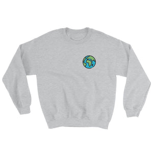 The World Is Ours Sweatshirt - Travel Wanderlust