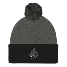 Load image into Gallery viewer, Mountain Goat Pom Pom Knit Cap
