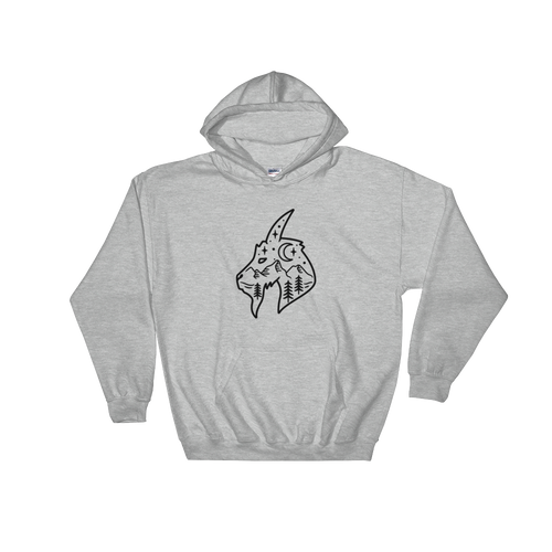 Mountain Goat Hooded Sweatshirt