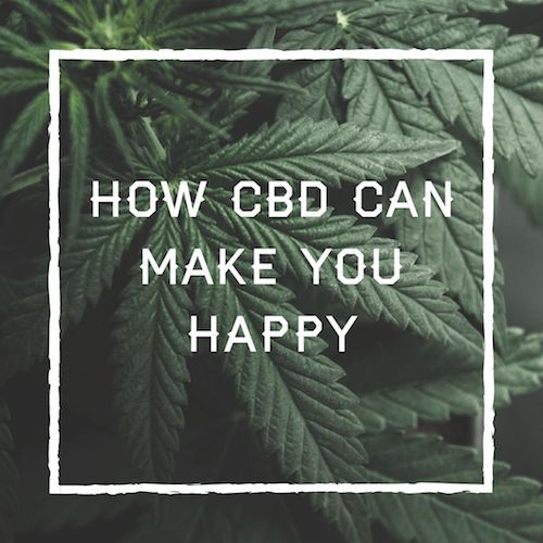 How CBD can make you happy