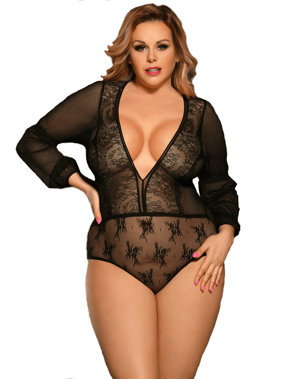 Sultry Long Sleeve Bodysuit