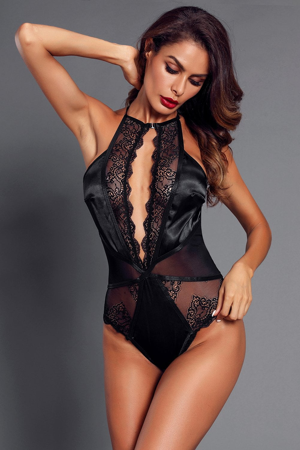 Sweet Nothings Satin Bodysuit