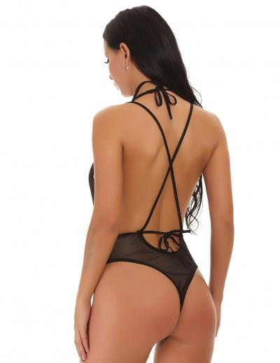 Spellbound Bodysuit - Black