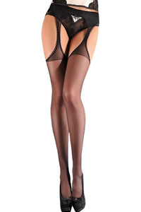 Sensuous Suspender Stockings