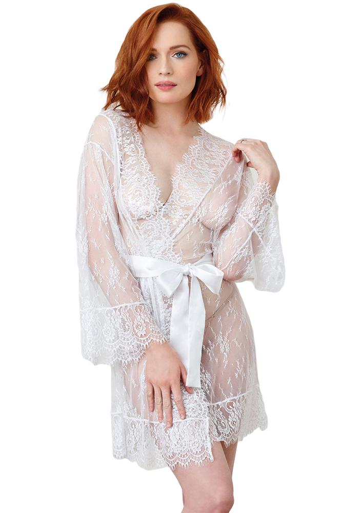 Heaven Lace Robe