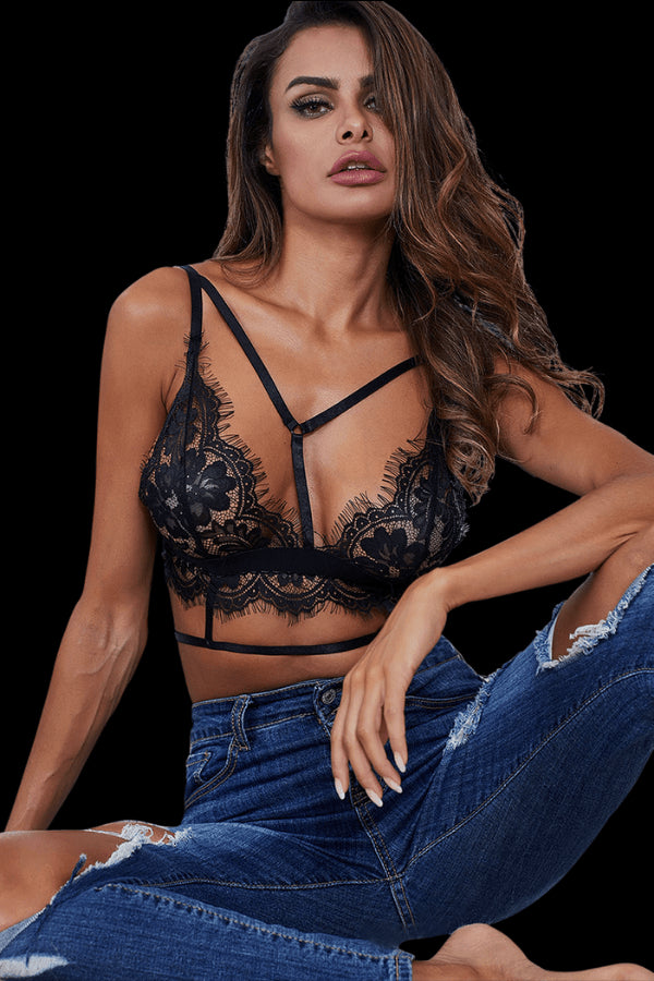 Adoration Bralette - Black