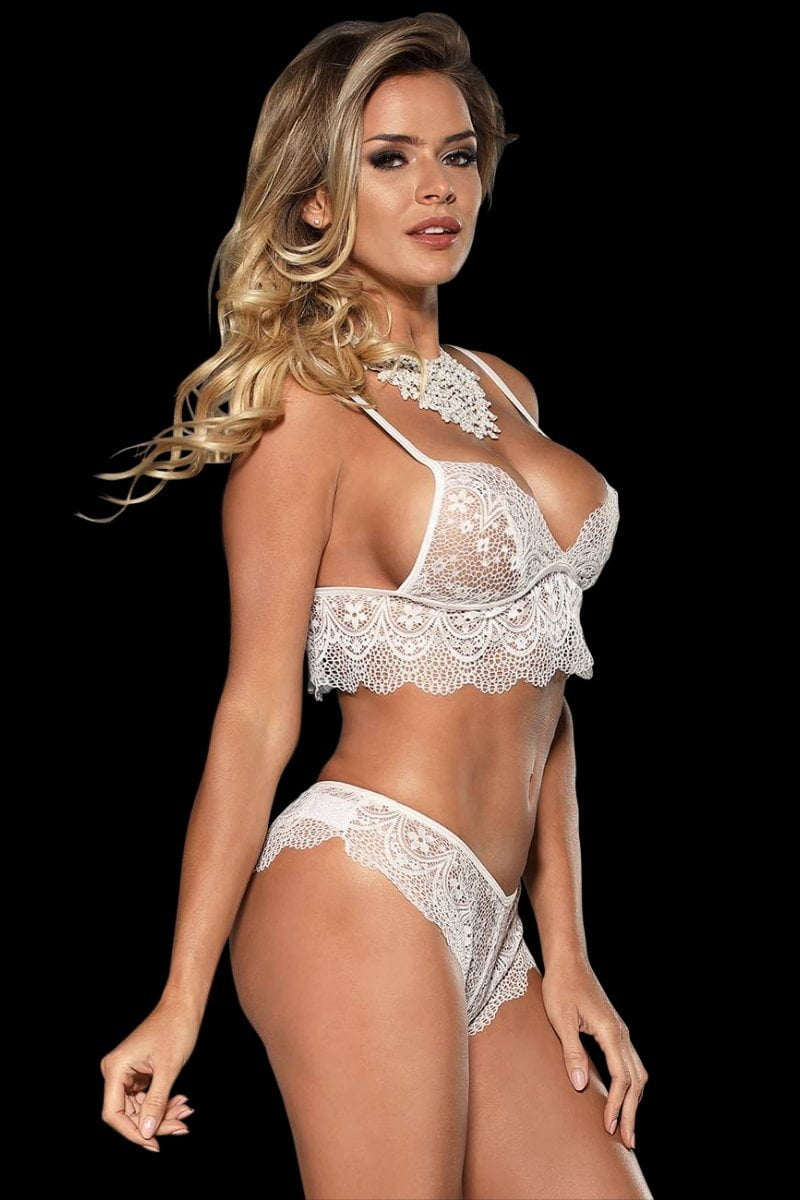 Allure Bralette Set - White