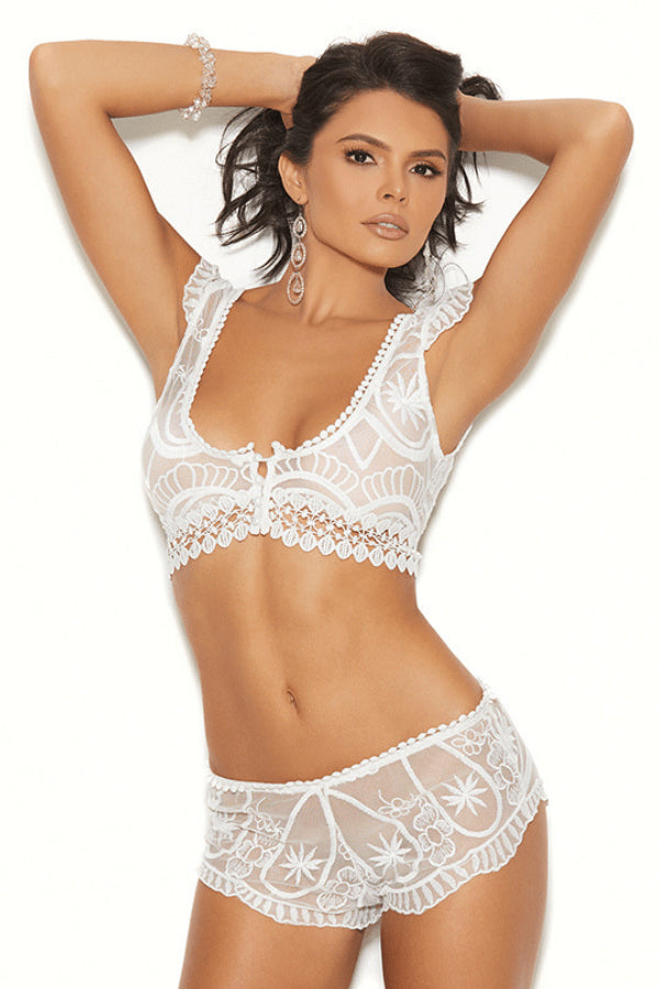 Angelic Lace Set