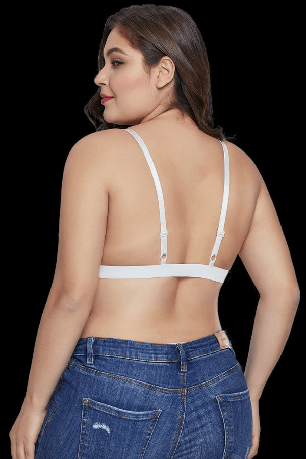 Attention Seeker Bralette - White