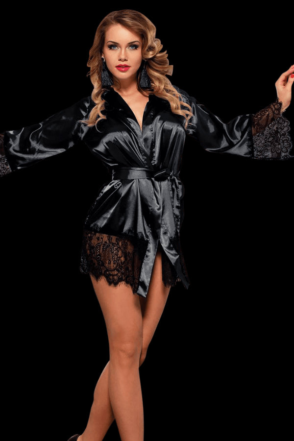 Bedroom Ready Robe - Black