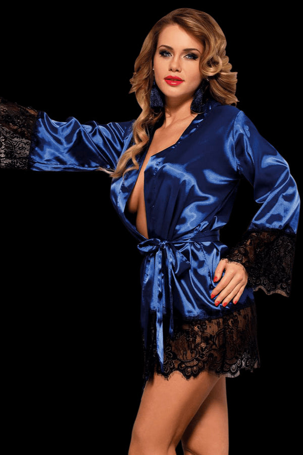 Bedroom Ready Robe - Blue