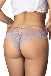 Bliss Lace Briefs - Lilac