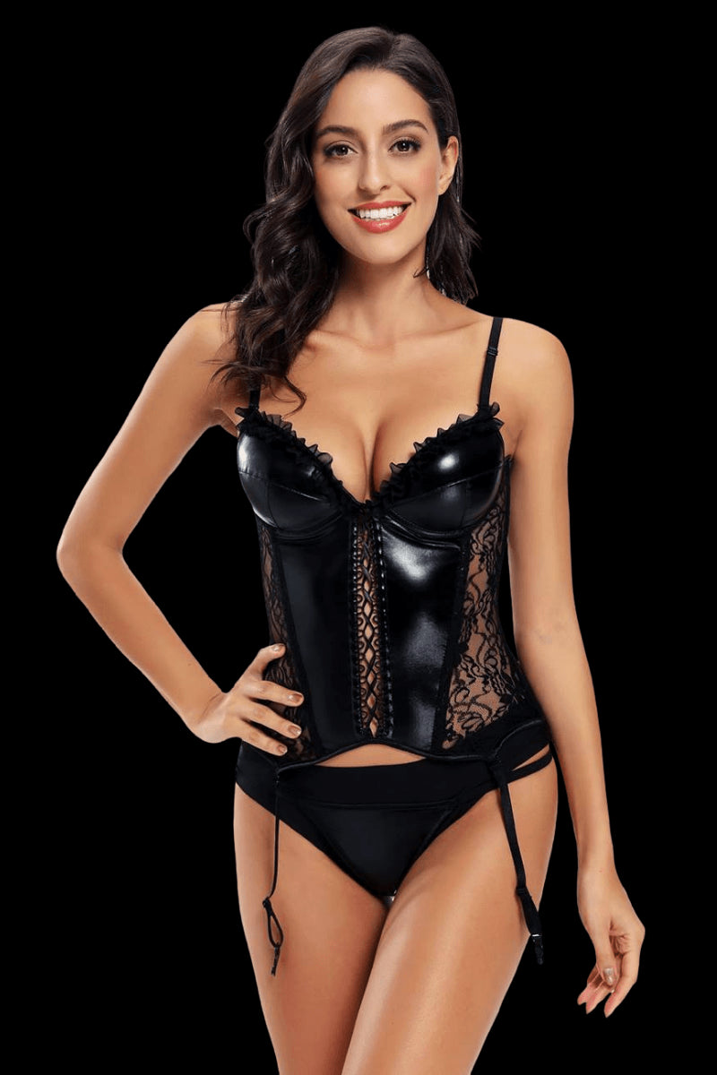 Can't Be Tamed Corset Set