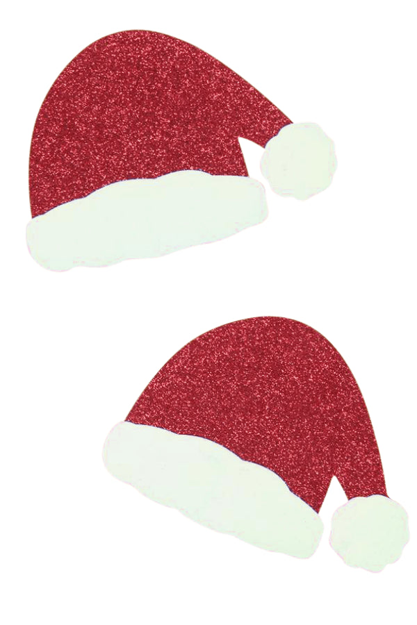 Christmas Hat Nipple Covers