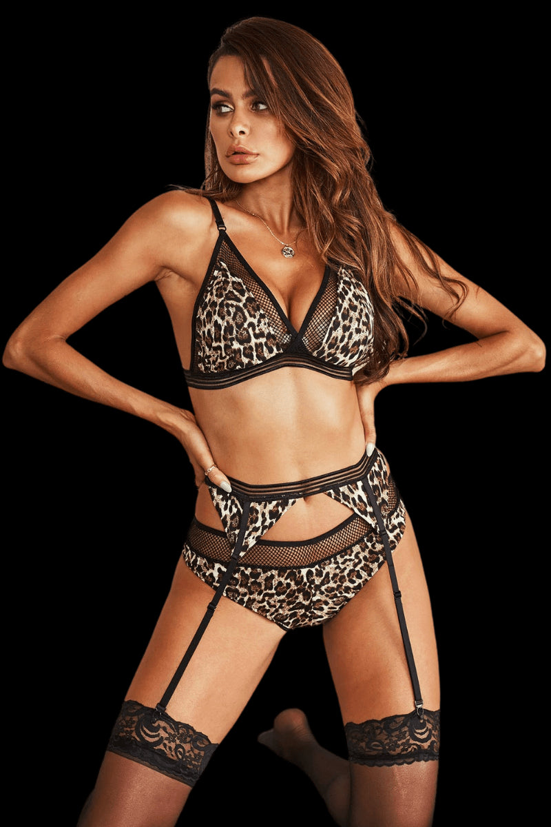 Devious Set - Leopard