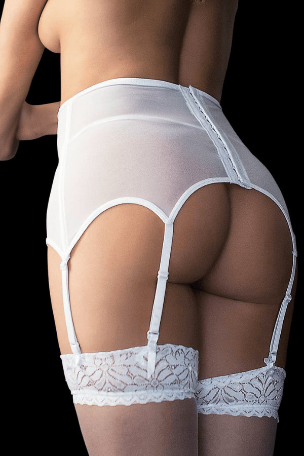 Dream Suspender Set - White
