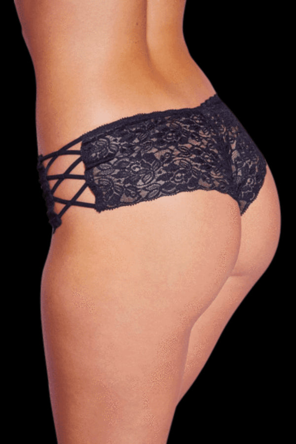 Dreamy Lace Brief - Black