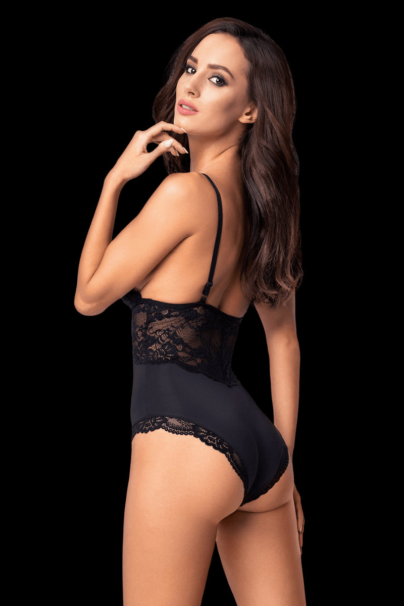 Heaven Sent Bodysuit - Black