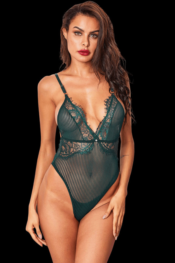 Hello Sugar Bodysuit - Green