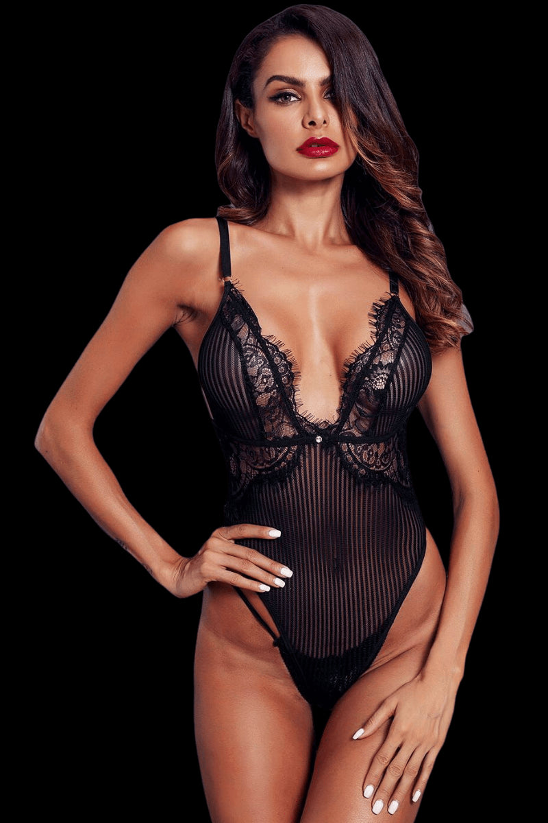 Hello Sugar Bodysuit - Black