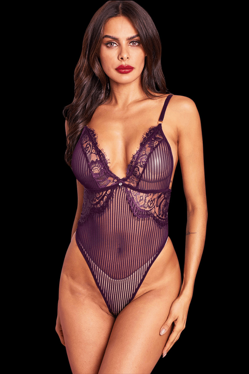 Hello Sugar Bodysuit - Purple