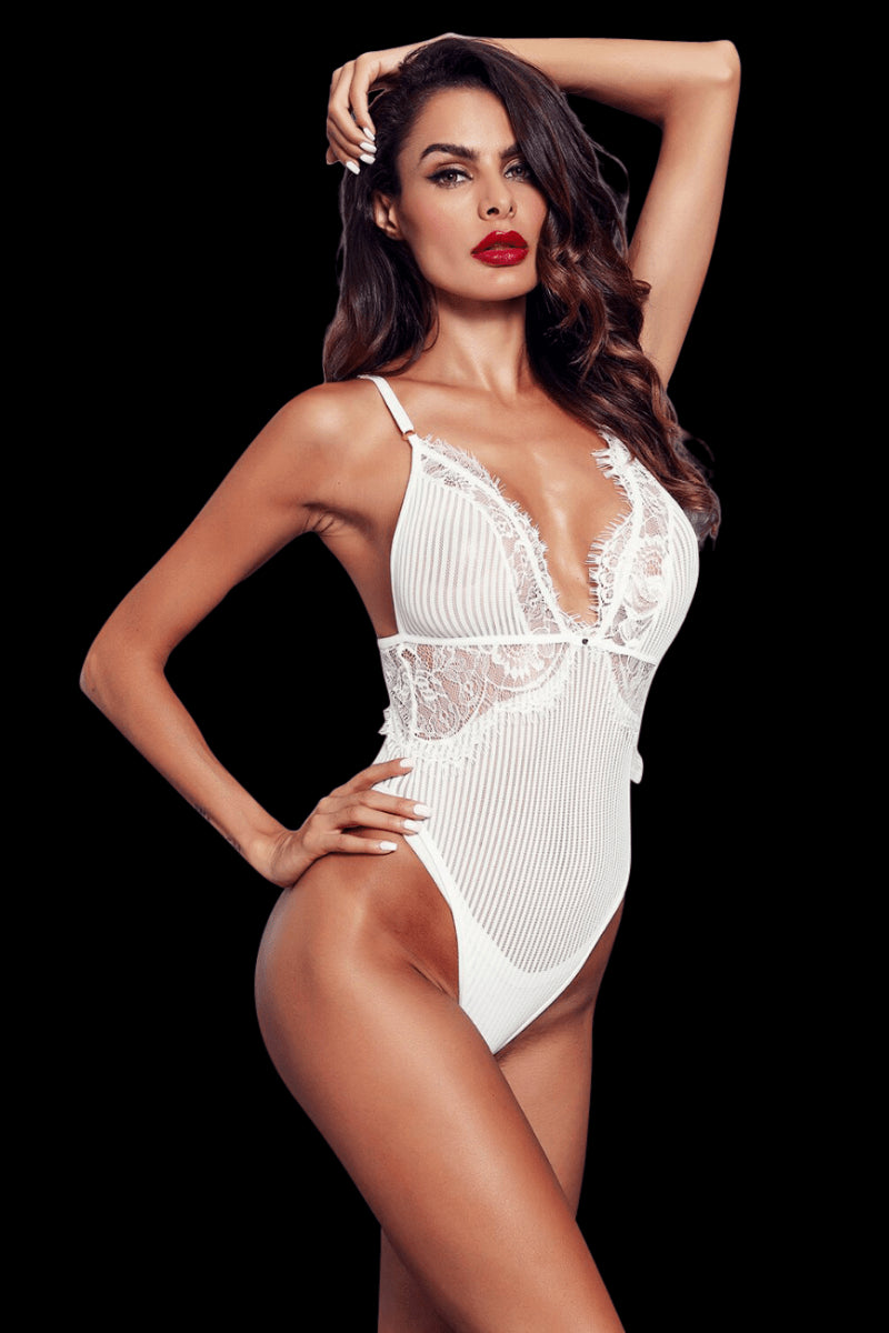 Hello Sugar Bodysuit - White