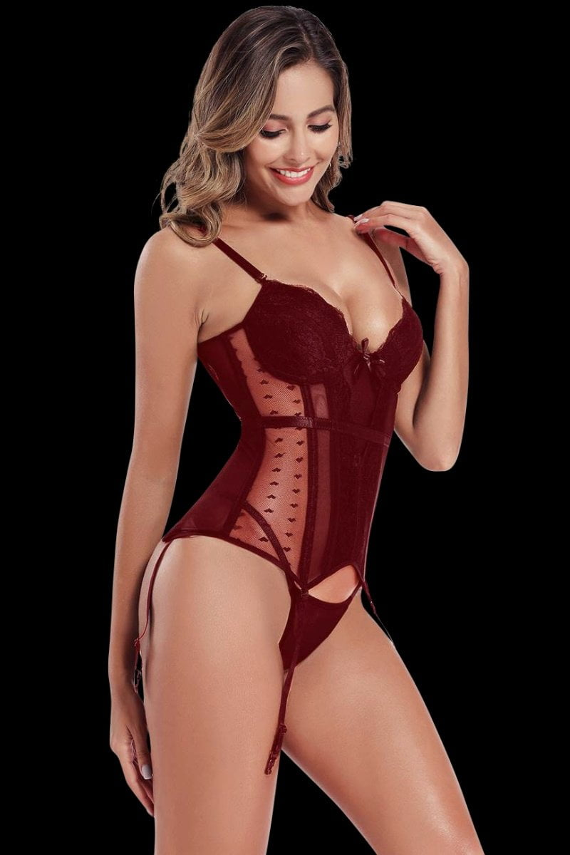 Nocturnal Corset - Red