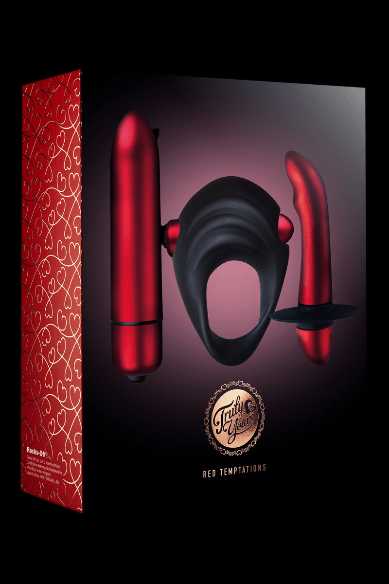Red Temptations Toy Set