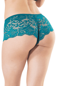 Riva Booty Shorts - Teal