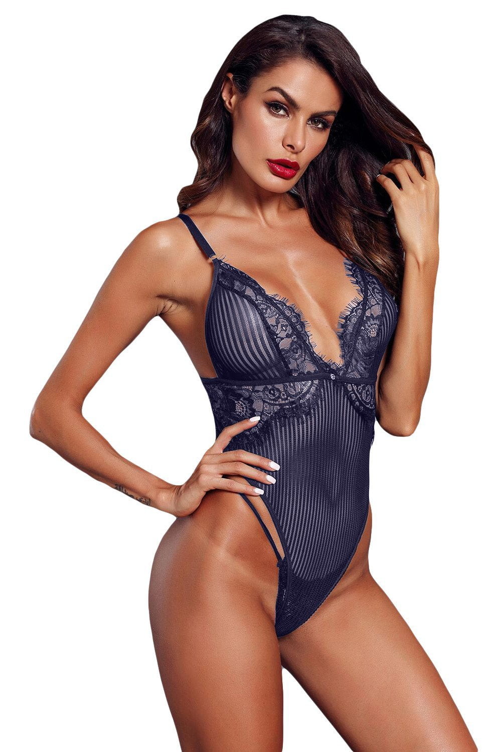 Hello Sugar Bodysuit - Navy