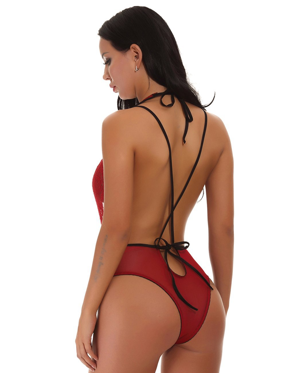 Spellbound Bodysuit - Red