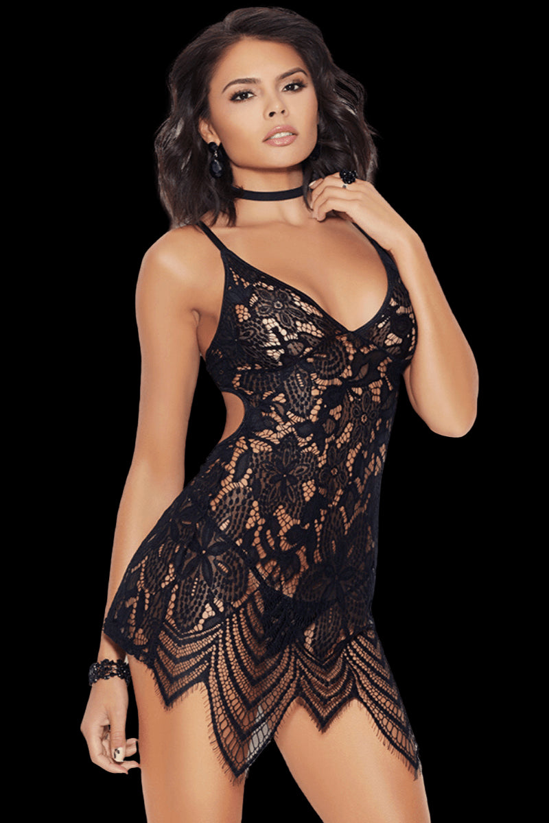 Sweet Treat Babydoll - Black