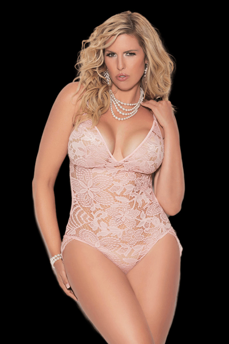 Sweet Treat Bodysuit - Dusty Rose