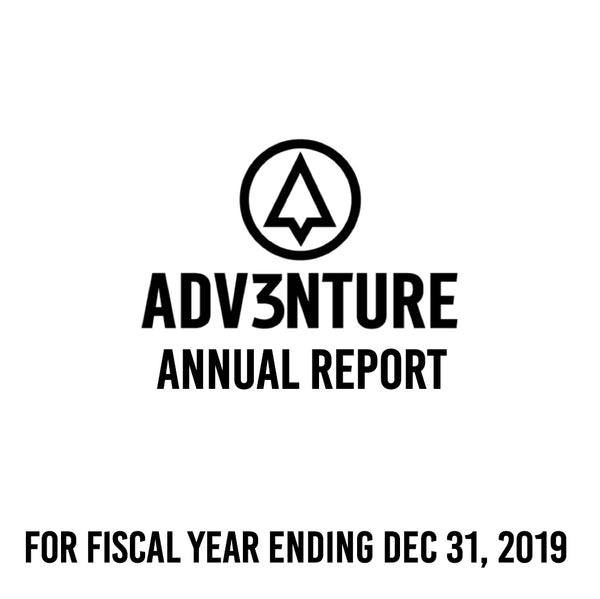 Annual Report for the fiscal year ended December 31, 2019