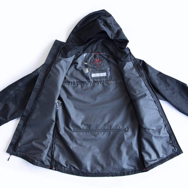 Men's Windbreaker Triple-Black (S)