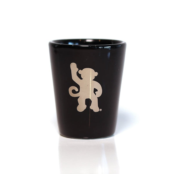 Pleepleus Shot Glass (Black)